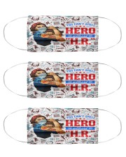 human resources hero mas  Cloth Face Mask - 3 Pack front