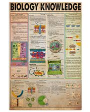 biology-knowledge21 11x17 Poster front