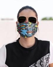autism light blue mas Cloth Face Mask - 3 Pack aos-face-mask-lifestyle-02