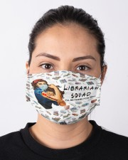 Librarian squad mas Cloth Face Mask - 3 Pack aos-face-mask-lifestyle-01