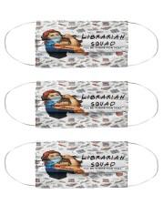 Librarian squad mas Cloth Face Mask - 3 Pack front