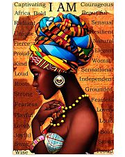 black girl I am 11x17 Poster front