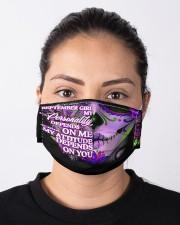 september girl attitude skull mas Cloth Face Mask - 3 Pack aos-face-mask-lifestyle-01