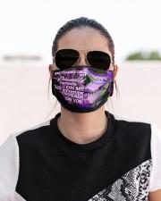 september girl attitude skull mas Cloth Face Mask - 3 Pack aos-face-mask-lifestyle-02