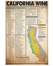 california-wine 11x17 Poster front