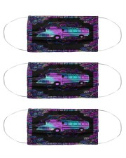 school bus neon mas Cloth Face Mask - 3 Pack front