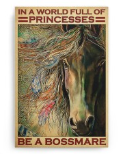 native girl horse be a bossmare pt lqt-DVH1 20x30 Gallery Wrapped Canvas Prints aos-canvas-pgw-20x30-ghosted-front-02