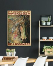 native girl horse be a bossmare pt lqt-DVH1 20x30 Gallery Wrapped Canvas Prints aos-canvas-pgw-20x30-lifestyle-front-04