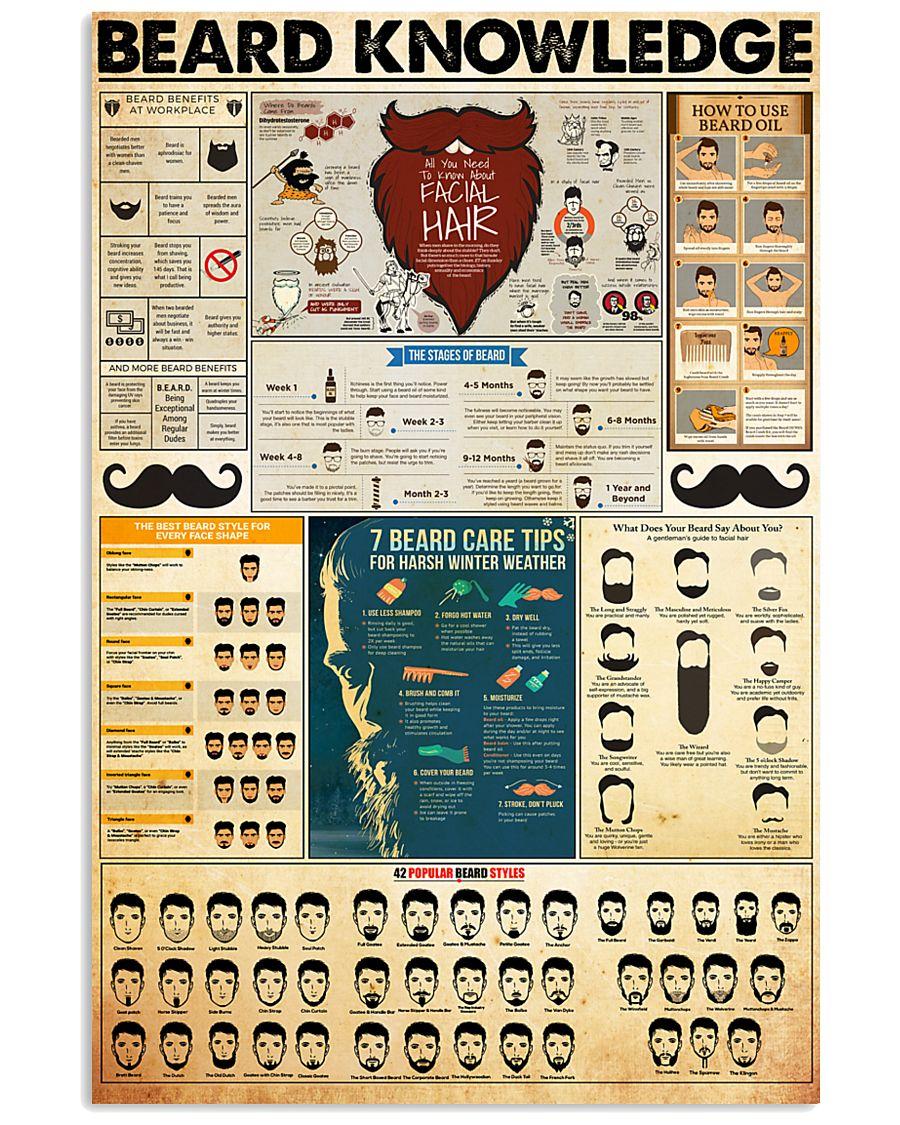 beard-knowledge 11x17 Poster