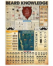 beard-knowledge 11x17 Poster front
