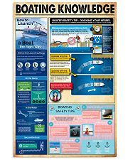Boating knowledge 11x17 Poster front