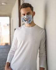 Secretary crazy enough mas  Cloth Face Mask - 3 Pack aos-face-mask-lifestyle-10