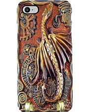 Steampunk dragon pc mttn ngt Phone Case i-phone-8-case
