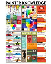 Painter Knowledge 24x36 Poster front