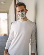 4th grade teacher I am mas Cloth Face Mask - 3 Pack aos-face-mask-lifestyle-10