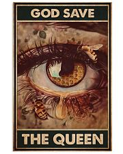 Bee god save the queen pt lqt-NTH 11x17 Poster front