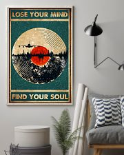 music lose your mind find your soul 11x17 Poster lifestyle-poster-1