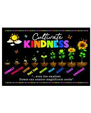 teacher Cultivate Kindness poster  17x11 Poster front