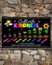 teacher Cultivate Kindness poster  17x11 Poster poster-landscape-17x11-lifestyle-16