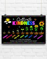 teacher Cultivate Kindness poster  17x11 Poster poster-landscape-17x11-lifestyle-17