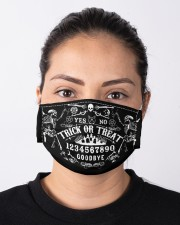 trick or treat ouija spirit board mas Cloth Face Mask - 3 Pack aos-face-mask-lifestyle-01