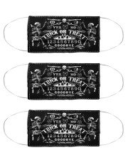 trick or treat ouija spirit board mas Cloth Face Mask - 3 Pack front