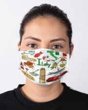 italy map mas  Cloth Face Mask - 3 Pack aos-face-mask-lifestyle-01