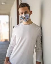 crazy enough teacher mas Cloth Face Mask - 3 Pack aos-face-mask-lifestyle-10