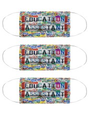 education assistant Cloth Face Mask - 3 Pack front