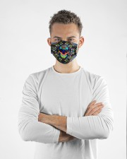 lgbt skull colorful mas Cloth Face Mask - 3 Pack aos-face-mask-lifestyle-14