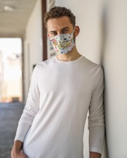 2nd grade teacher I am mas Cloth Face Mask - 3 Pack aos-face-mask-lifestyle-10