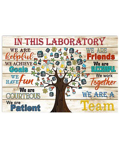 laboratory team