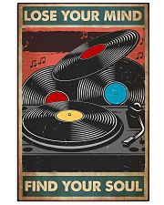vinyl record find my soul poster  11x17 Poster front