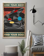 vinyl record find my soul poster  11x17 Poster lifestyle-poster-1
