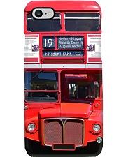 red double decker bus pc ttb ngt Phone Case i-phone-8-case