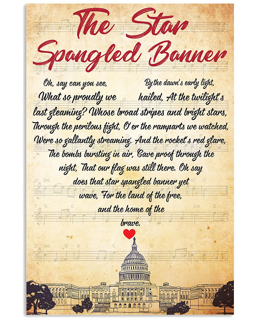 Lyri USA anthem 11x17 Poster