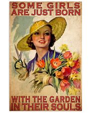 Gardening girl soul 11x17 Poster front