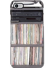 Vinyl record shelf and turntable pc dvhh-pml Phone Case i-phone-8-case