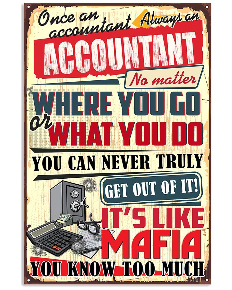 accountant -mafia 11x17 Poster