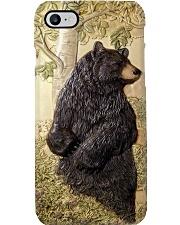 camping 3d black bear art tile pc mttn-pml Phone Case i-phone-8-case
