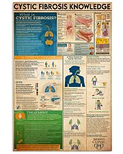 Cystic Fibrosis knowledge 16x24 Poster front