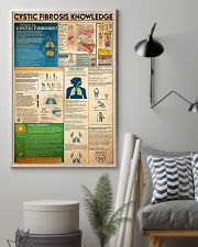Cystic Fibrosis knowledge 16x24 Poster lifestyle-poster-1