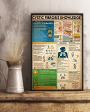 Cystic Fibrosis knowledge 16x24 Poster lifestyle-poster-3