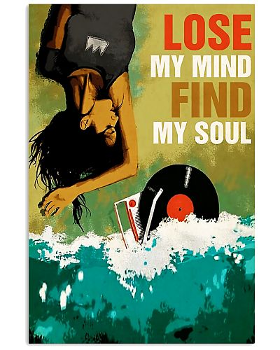 vinyl Music Lose my mind beach