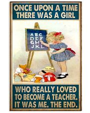 Teacher Girl Loved To Become poster 11x17 Poster front