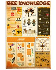 bee-knowledge 24x36 Poster front