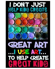 Art Help Create Great Kids 11x17 Poster front