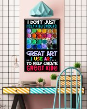 Art Help Create Great Kids 11x17 Poster lifestyle-poster-6