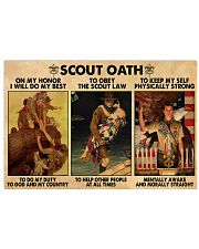 scout oath on my honor pt mttn nna 17x11 Poster thumbnail