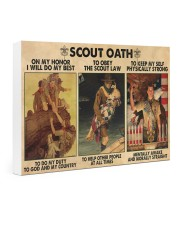 scout oath on my honor pt mttn nna Gallery Wrapped Canvas Prints tile